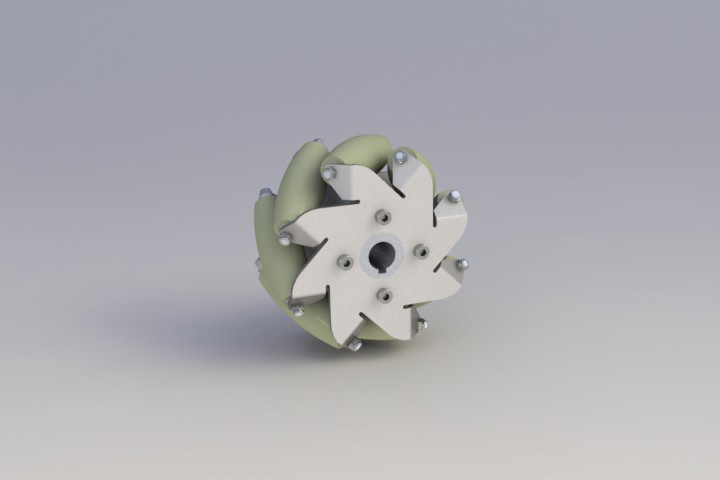 127mm-Stainless-Steel-Mecanum-wheel-with-TPU-Left-14188-1