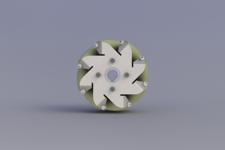 127mm-Stainless-Steel-Mecanum-wheel-with-TPU-Left-14188
