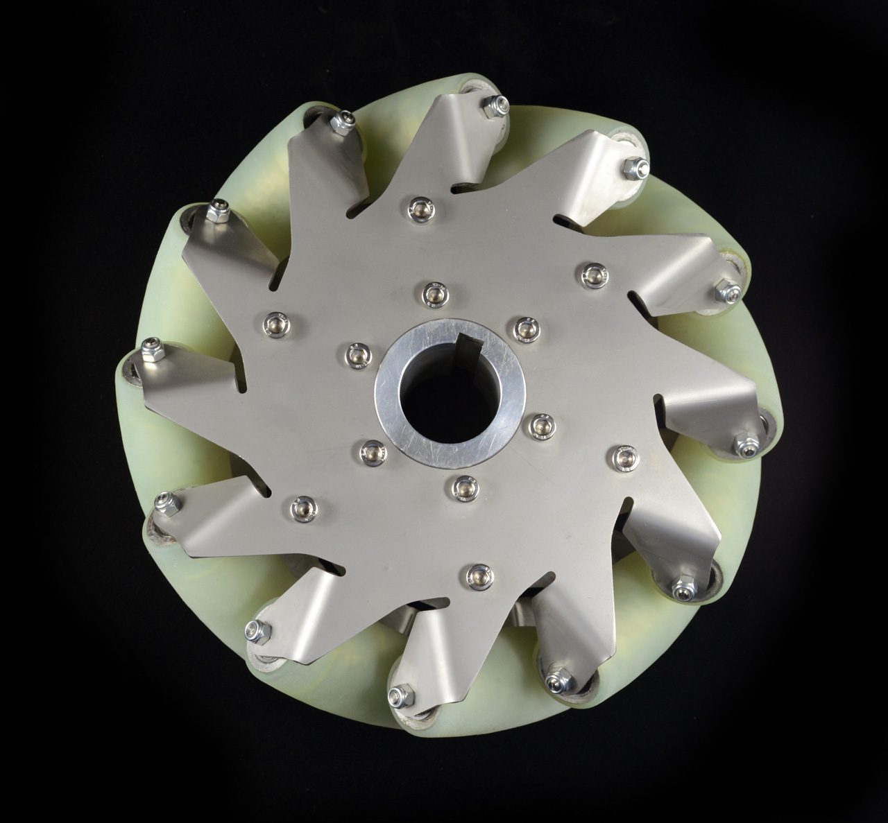 8-Inch-Industrial-wheel-Mecanum-wheel-with-12-PU-Roller-Right-14177-1